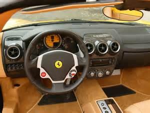 photo f430 spider interior design