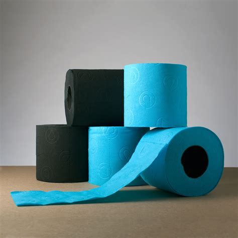 Tissue Organizer Colored 3 renova tissue black blue renova colored toilet paper touch of modern