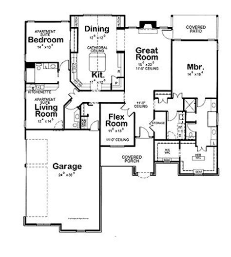 House Plans With Attached Apartment by 17 Best Images About A In Suite On