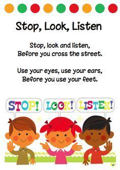 stop look and listen a toolbox for creating healthy boundaries books printable traffic signs for australia search