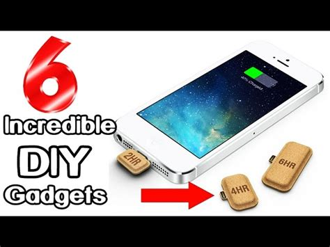 gadgets for easy life 6 incredible diy gadgets you can make at home l