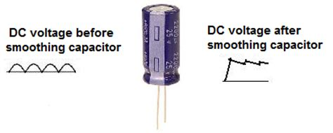 is capacitor used in dc how to build a dc power supply