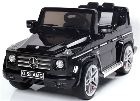 mercedes jeep black mercedes g55 amg suv licensed 12v battery electric