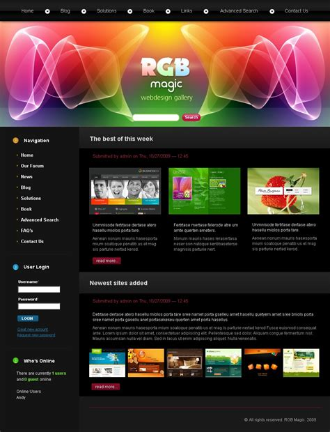 drupal themes web design web design drupal template 25063
