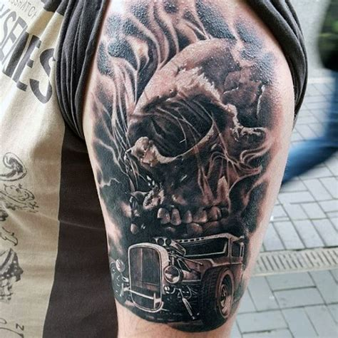 hot tattoos designs for men 70 rod designs for automobile aficionado