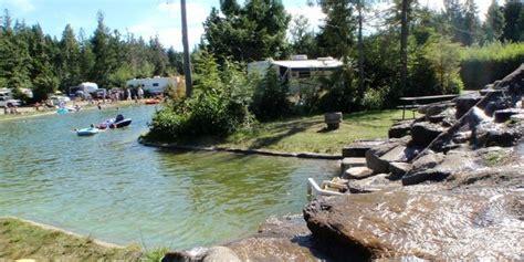 Qualicum Resorts Cabins by Qualicum Bay Resort Motel Suites Rv Park Treed