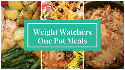 weight watchers dinner recipes easy weight watchers one pot meals simply filling low sp