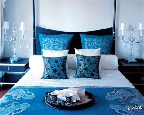 brown and blue home decor decoration ideas in ocean blue and brown design ideas for