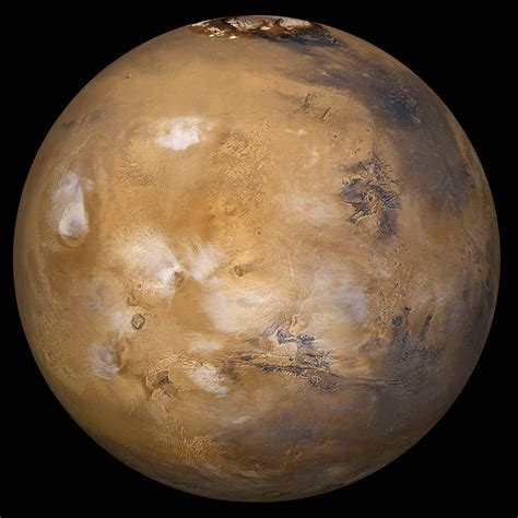 Are From Mars mars with cloud cover