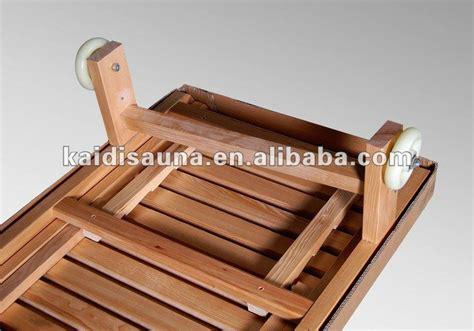 sauna bench wood sauna bench chair with hemlock buy wooden bench chair