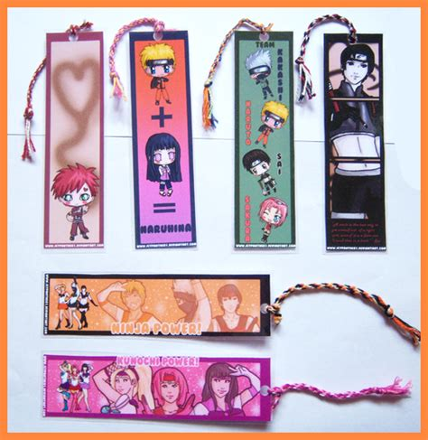 naruto printable bookmarks naruto bookmarks by icypanther1 on deviantart