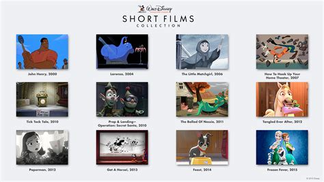 film studios disney walt disney animation studios shorts collection coming