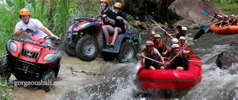 atv ride  white water rafting combination  package