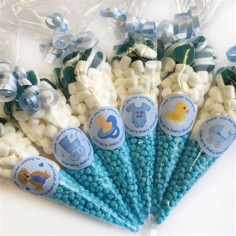 Boy Baby Shower Favors Diy by 25 Best Ideas About Blue Baby Showers On Boy