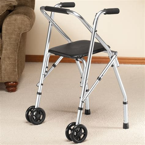 walkers with a seat walker with seat rolling walker with seat walter