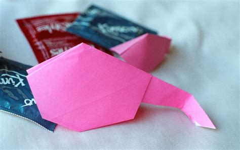 Origami Condoms - why your tax dollars are funding research for origami