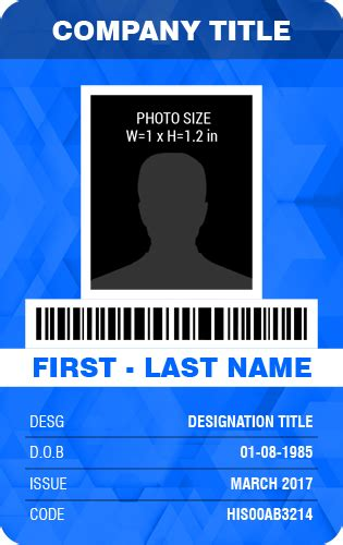 id card template word free id card template commonpence co for id