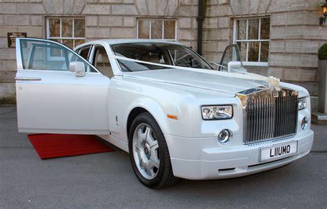 rolls royce white phantom pearl white rolls royce phantom wedding car cupid carriages