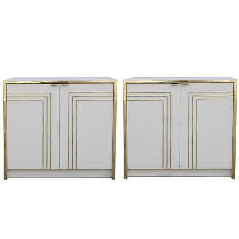 gold nightstand pair of and gold nightstands for sale at 1stdibs