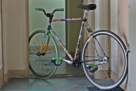 Fahrrad Sticker Bomb by Fixed Gear Stickerbomb 56cm Pedal Room