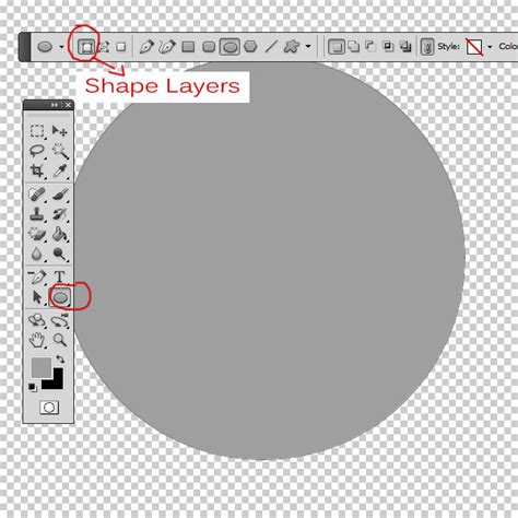 where is the shapes layer option in photoshop cs6 graphic design create a metal coin in photoshop photoshop tutorial