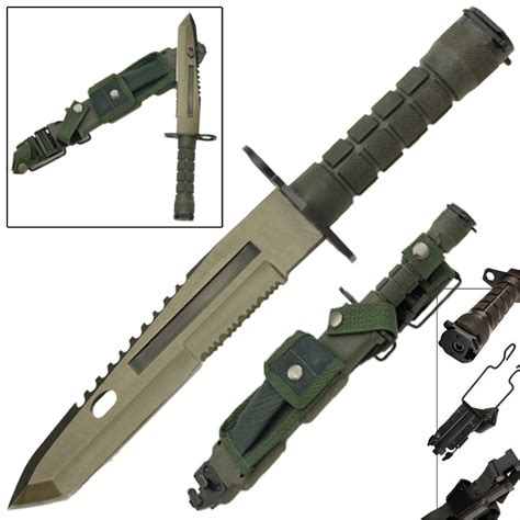 deception combat bayonet tactical survival knife