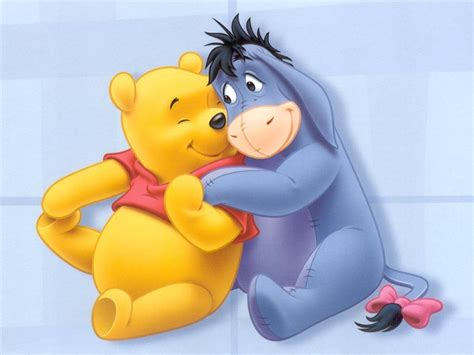 winnie pooh winnie the pooh and eeyore wallpaper winnie the pooh