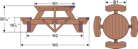 build   picnic table plans plans