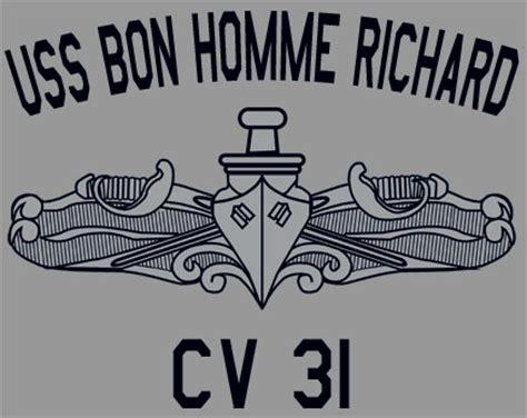 cv design homme usn us navy uss bon homme richard cv 31 t shirt ebay