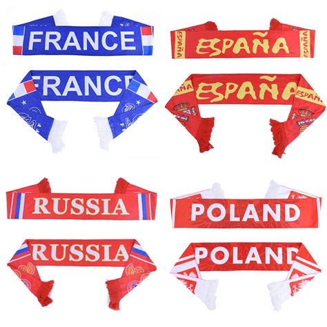 fan cloth customer service russia world cup 2018 football fans scarf soccer fan scarf