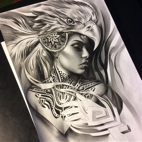 tattoo girl sketch see this instagram photo by tattoospooky d 846 likes