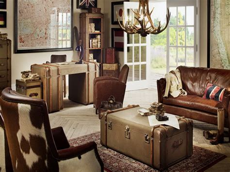 travel themed office decor living room home office in the living room rustic ideas making space for home office in the