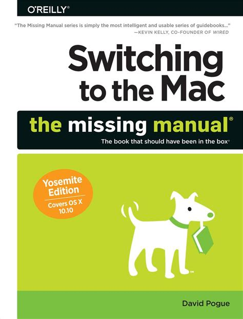 Do Calendars Need An Isbn Switching To The Mac The Missing Manual Yosemite Edition