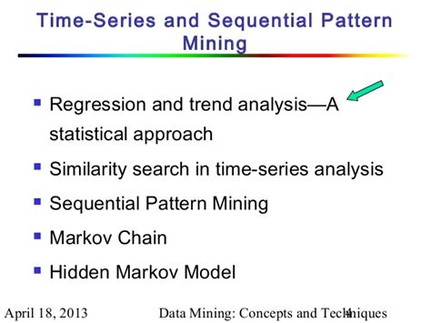 pattern analysis and data mining chapter 8 2 data mining concepts and techniques 2nd ed
