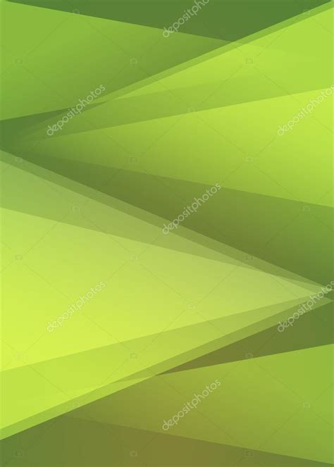 format html background background green triangles vertical format a4 page stock