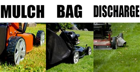do you mulch bag or side discharge vote now the