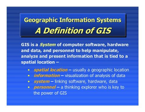 Mba Computer Information Systems by What Is Gis