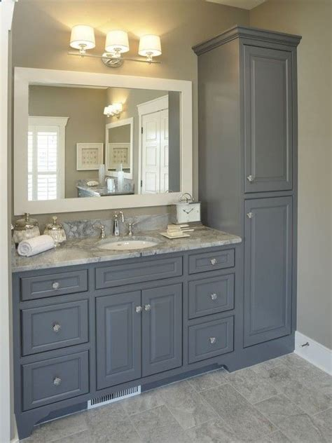 25 best ideas about gray vanity on grey bathroom vanity small bathroom cabinets