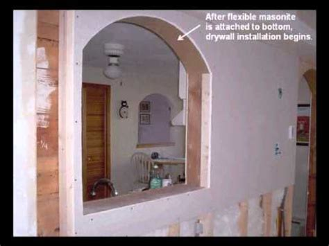 archways and raised ceilings features to put your how to build interior arches revised youtube