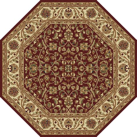 sears rugs clearance tayse rugs sensation ventura area rug 5 3 octagon home home decor rugs area