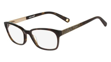 nine west nw5076 tortoise 206 eyeglasses