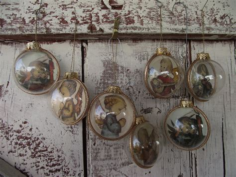vintage hummel christmas tree ornaments by lititzcarriagehouse