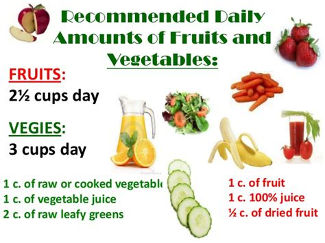 9 cups vegetables fn1 ppt fruits and vegetables