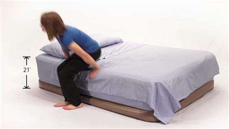 airmattress insta bed raised neverflat and air mattress with a built in