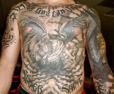 angel tattoo chest piece pin by tattoos beauty com on collection of the cutest