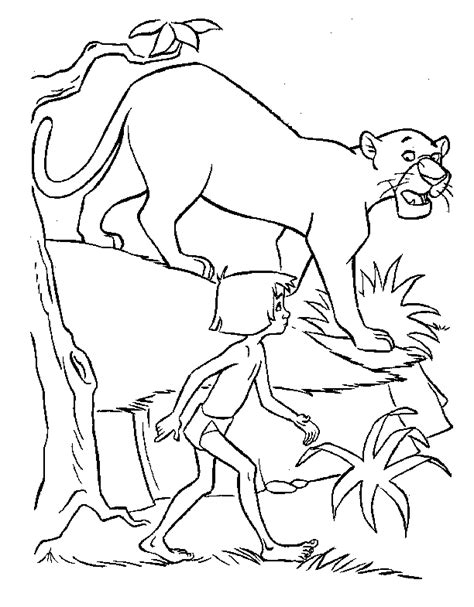 Junglebook Coloring Pages Jungle Book 2 Coloring Pages
