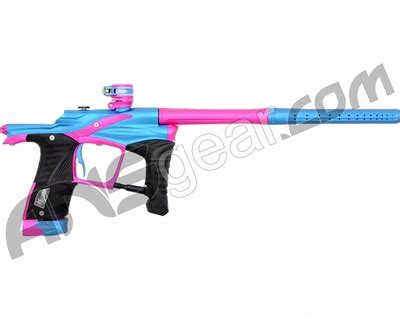 planet eclipse ego lv1 paintball gun electric blue/pink