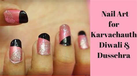 super easy nail art youtube super easy pink nail art design for any occasion youtube