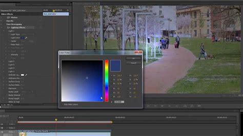 tutorial de adobe premiere cs6 tutorial adobe premiere pro cs6 a 241 adir efecto luces