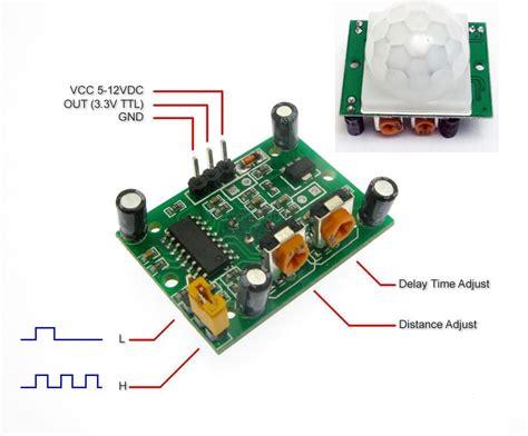 Hc Sr501 Pir Motion Sensor Module image gallery hc sr501